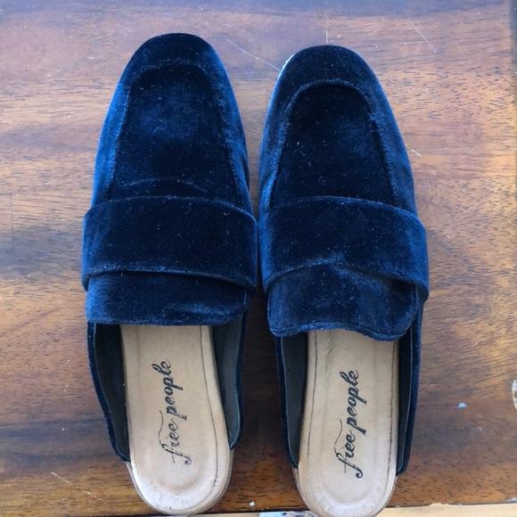 6c82c4339af Free People Shoes - Free people velvet at ease loafer